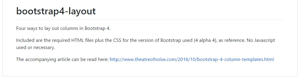 Format examples  inside of Bootstrap 4