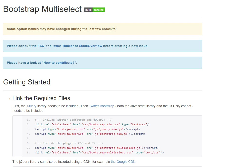 Bootstrap multiple select  training