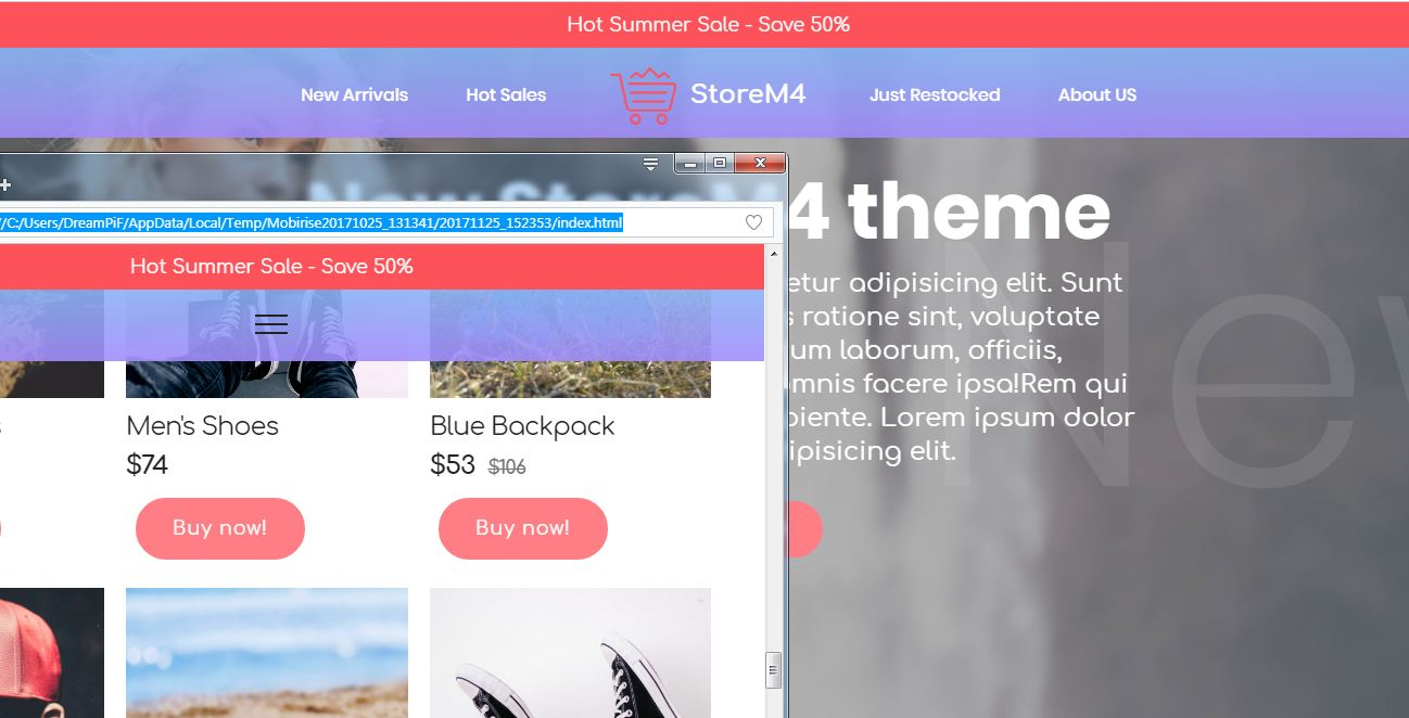 bootstrap ecommerce templates