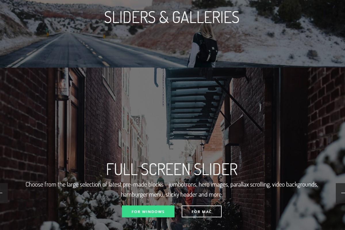 Responsive Sliders and Galleries