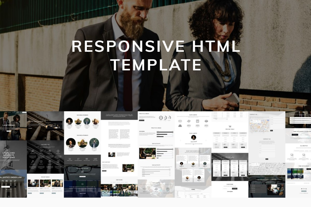 HTML Table Templates