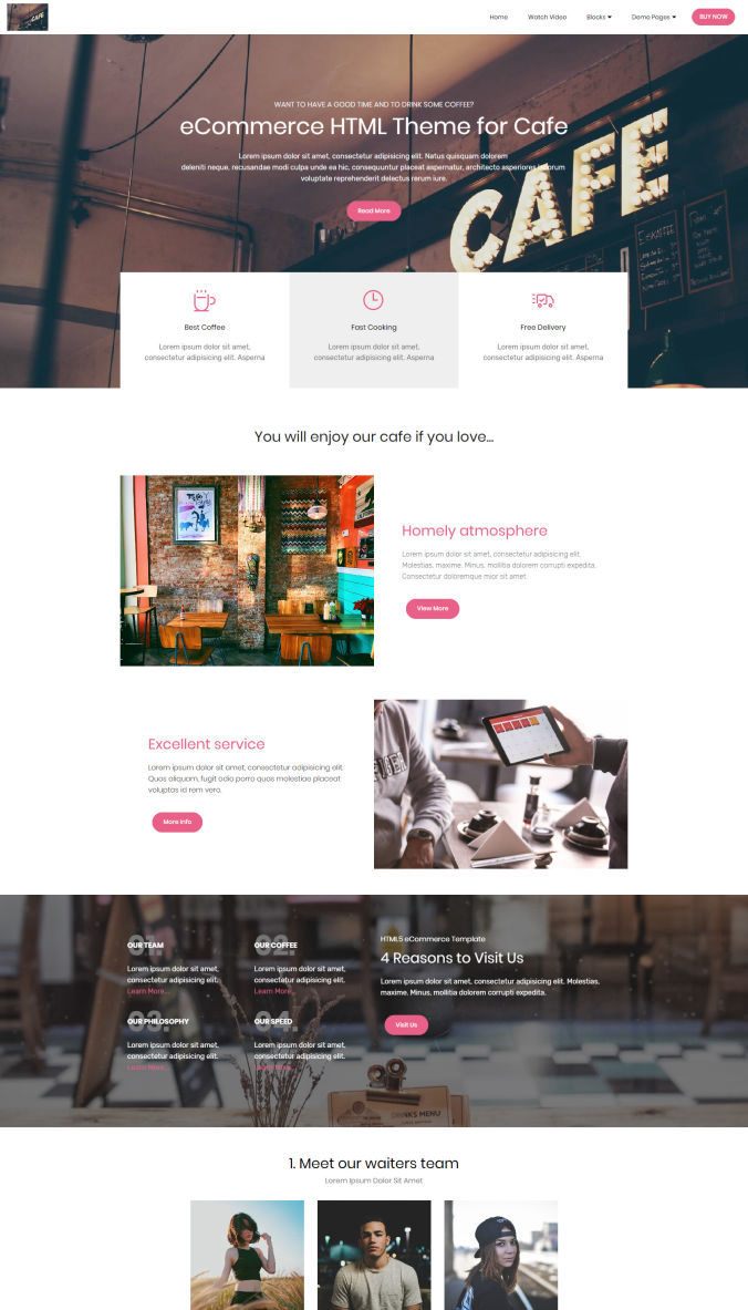Shopping Website Templates