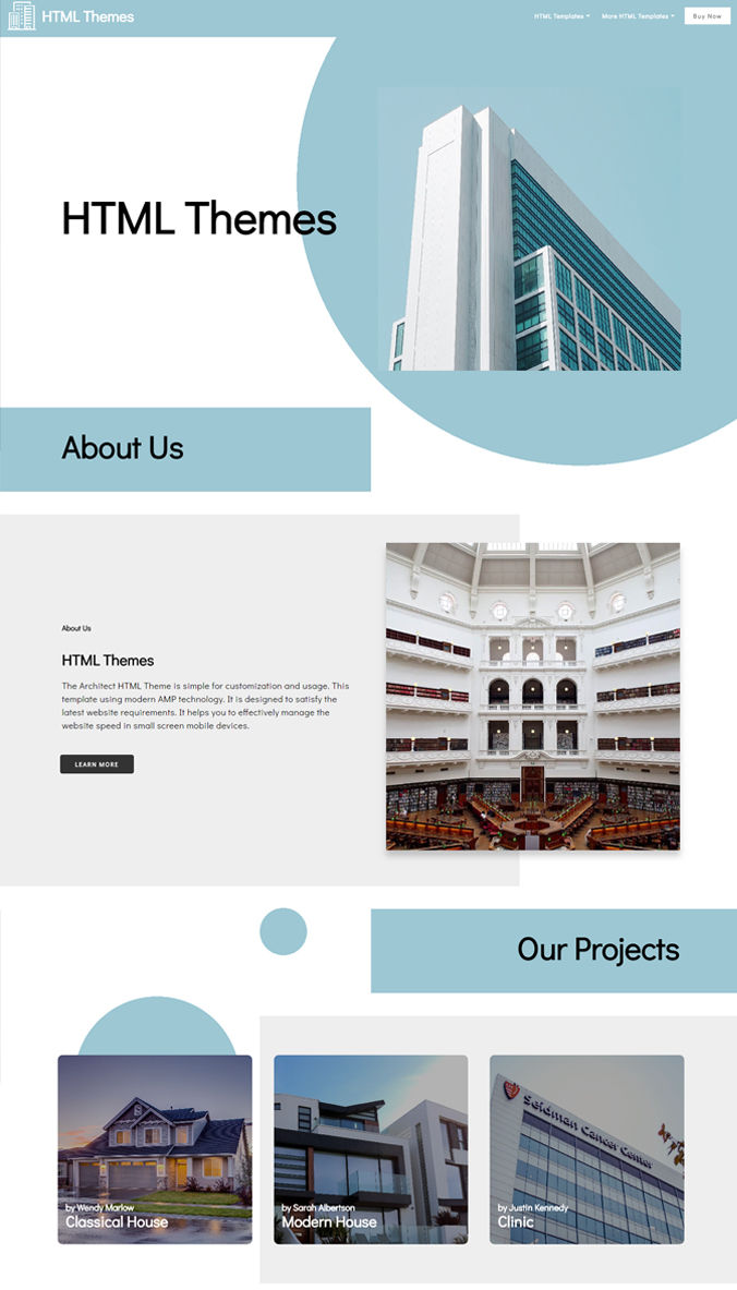 Real Estate Website Templates