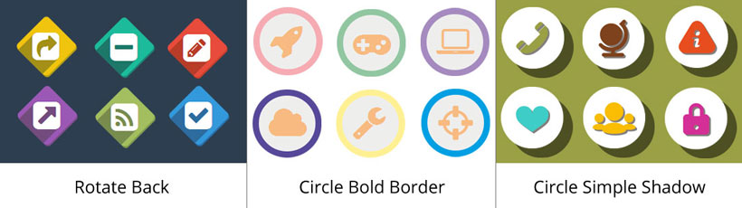 rotate back icon, circle bold border icons, circle simple shadow free icon creator