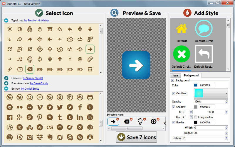 icon builders & online icon maker