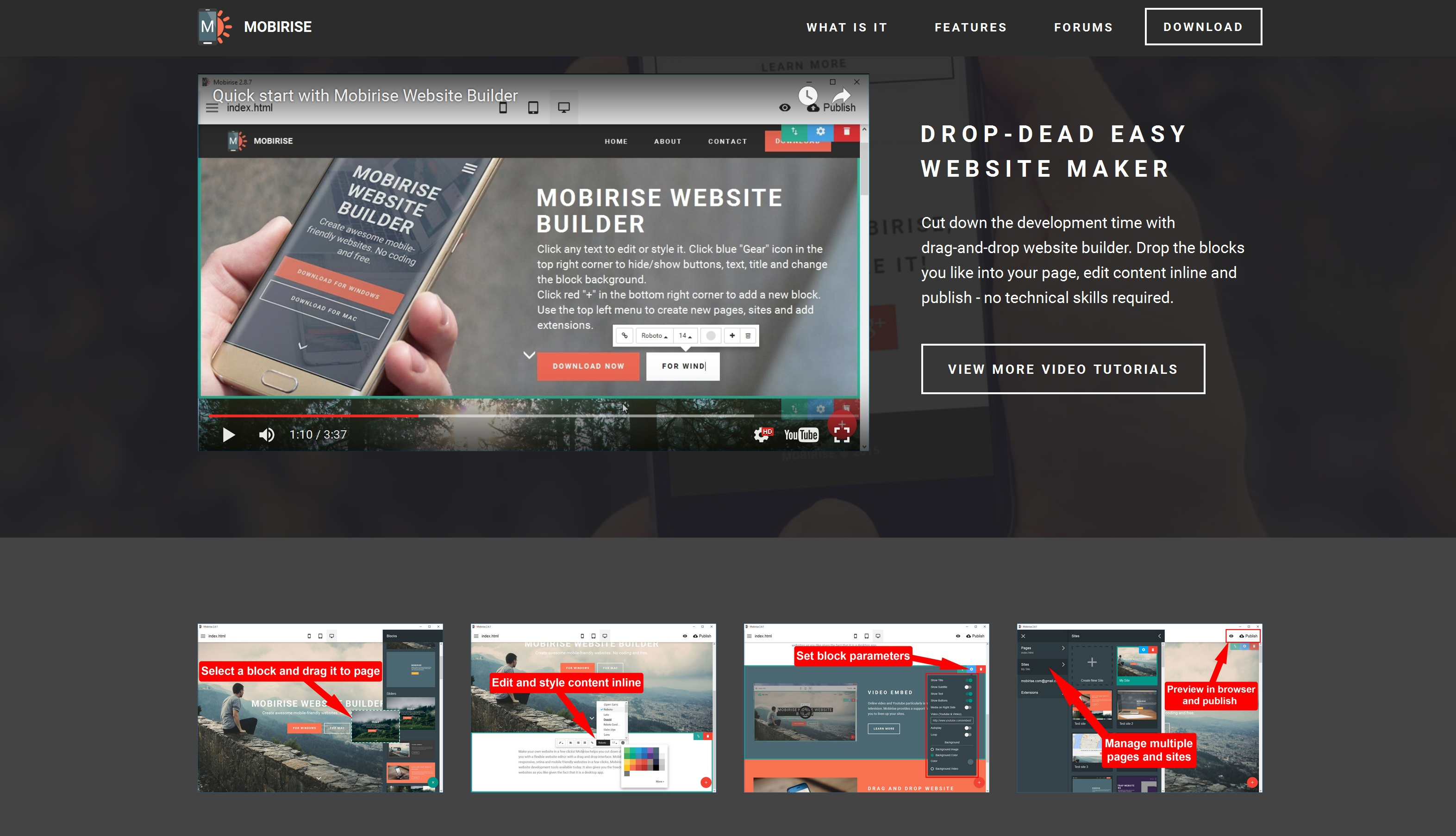 Responsive Mobile Website Builder Review