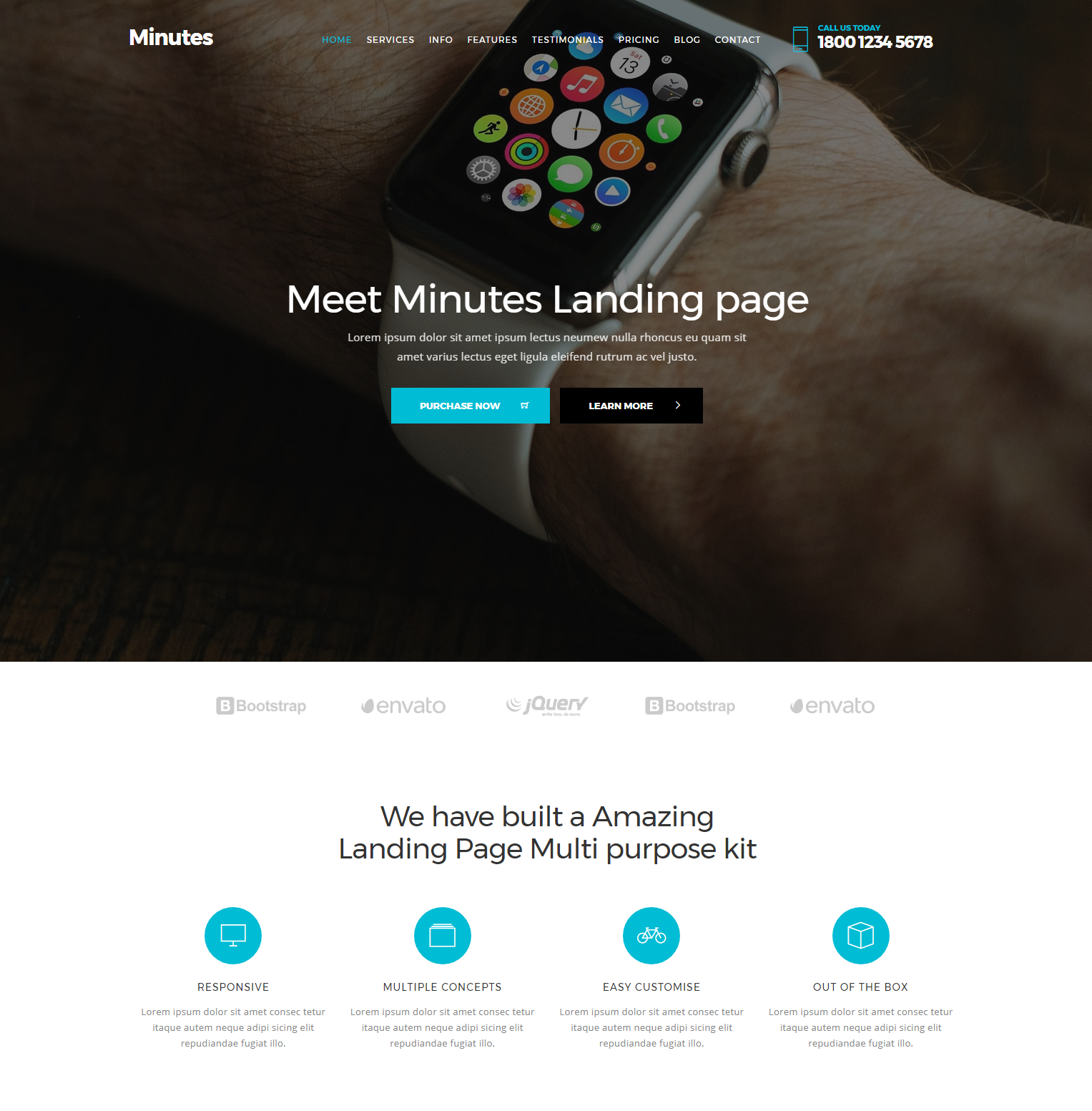 Free Download Bootstrap Minutes Templates