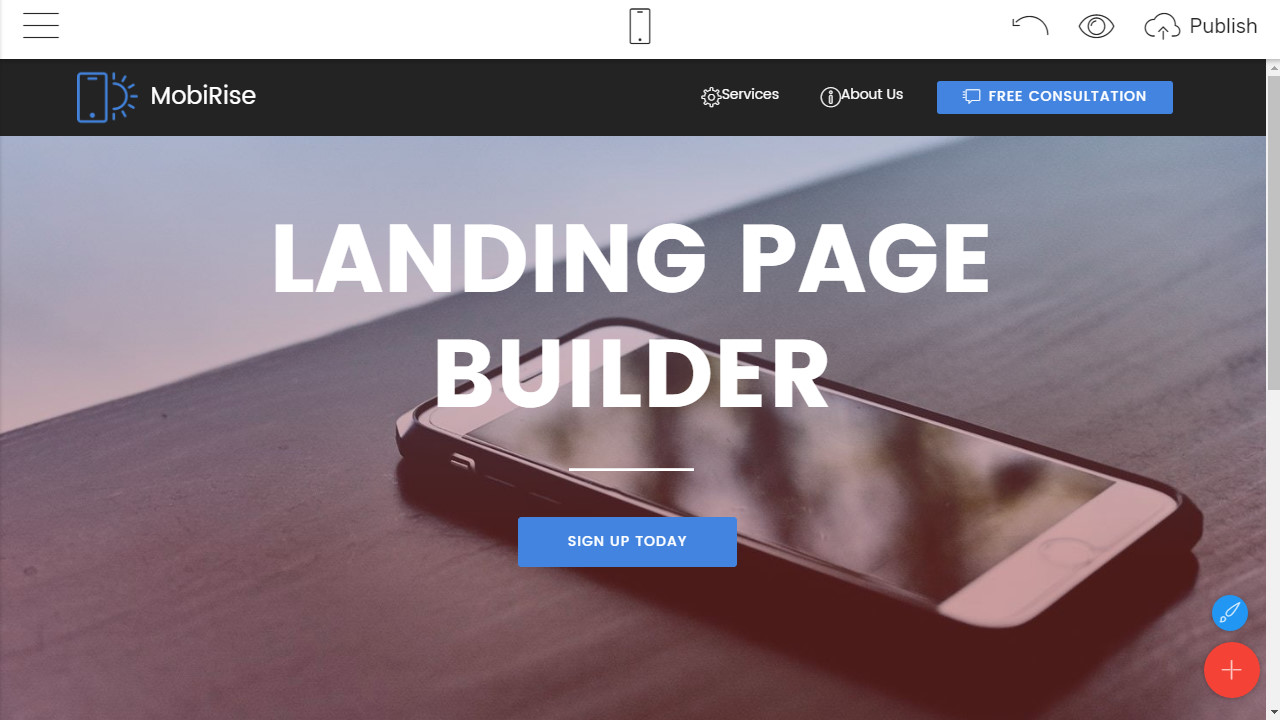 how to create a web page