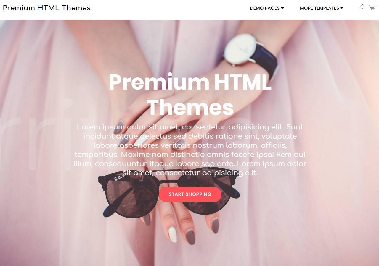 Premium HTML5 Templates