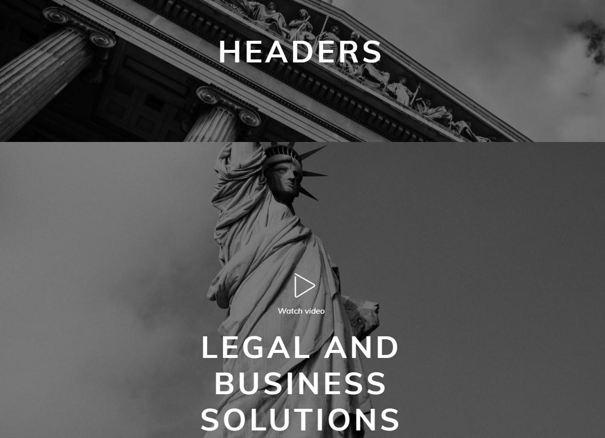 Mobile-friendly Header Theme