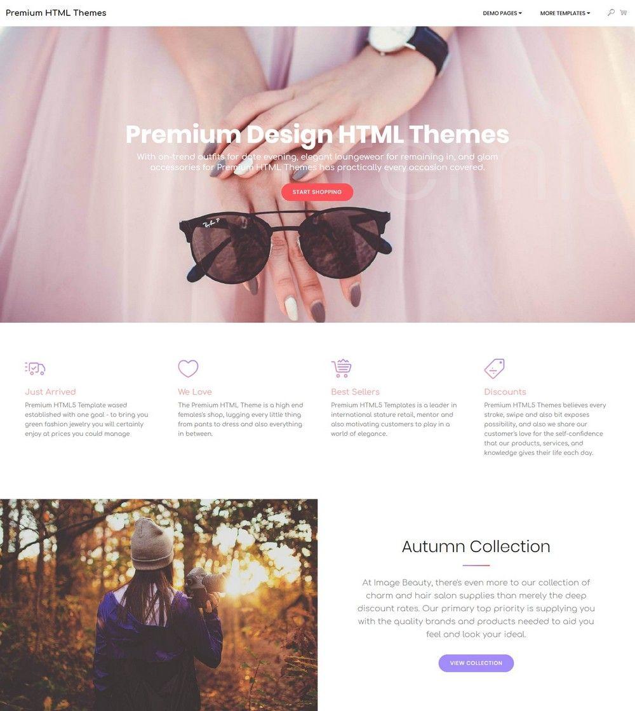 Premium Design HTML Themes