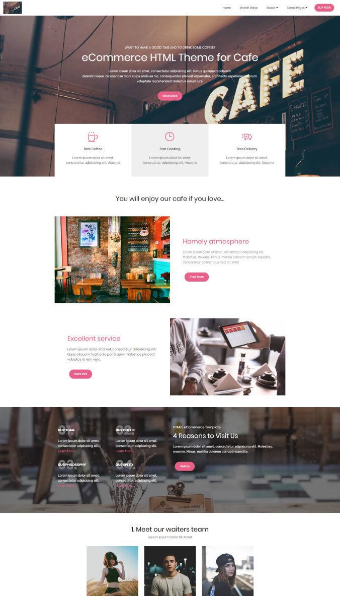 Shopping Website Templates