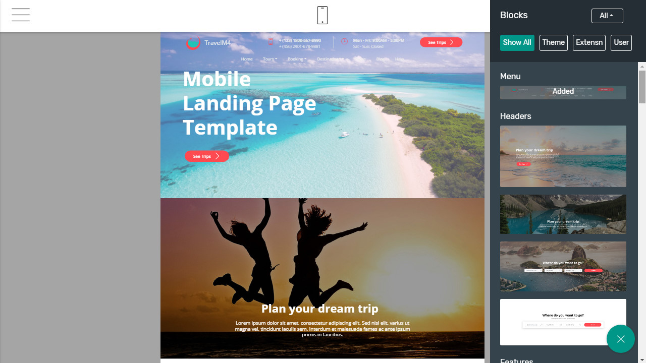 bootstrap 4 template 2018