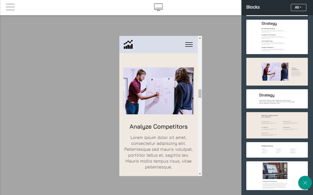 HTML Bootstrap about us page template