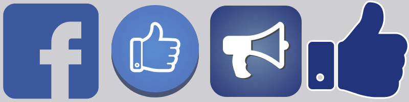 Facebook icons