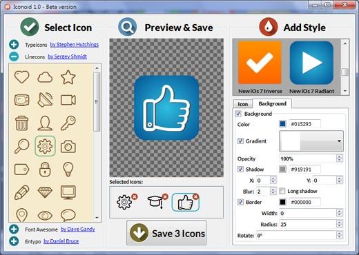 Iconion Free Icon Maker