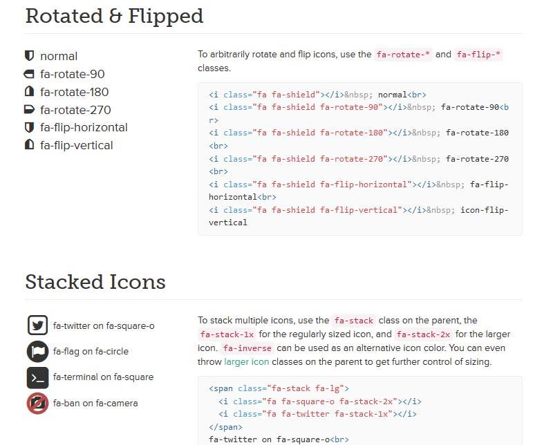 Font awesome customization