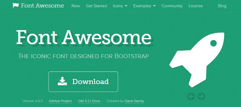 download font awesome