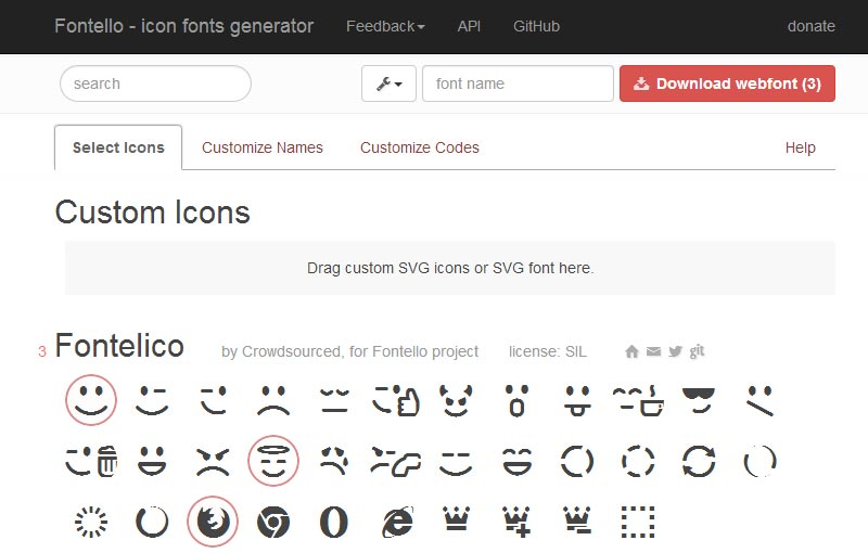 Jquery Mobile Icons