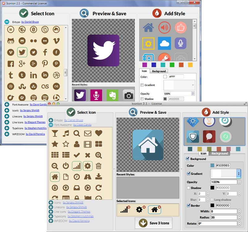 Icon converter software